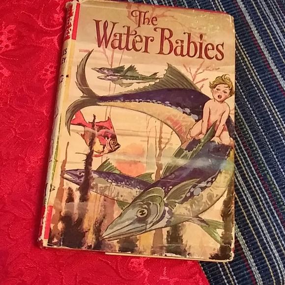 Vintage 1964 Water Babies Kingsley Book